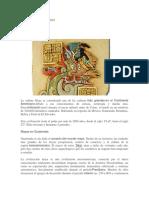 Historia y Cultura Maya