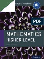Oxford IB Maths HL Course Companion