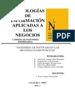 Ingeniería de Software en Las Organizaciones Públicas (1)