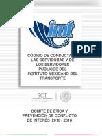 Codigo de Etica Conducta y Valores IMT 2016 -2018