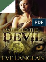 Mated to the Devil - Eve Langlais - Livro Único(Rev. SH)