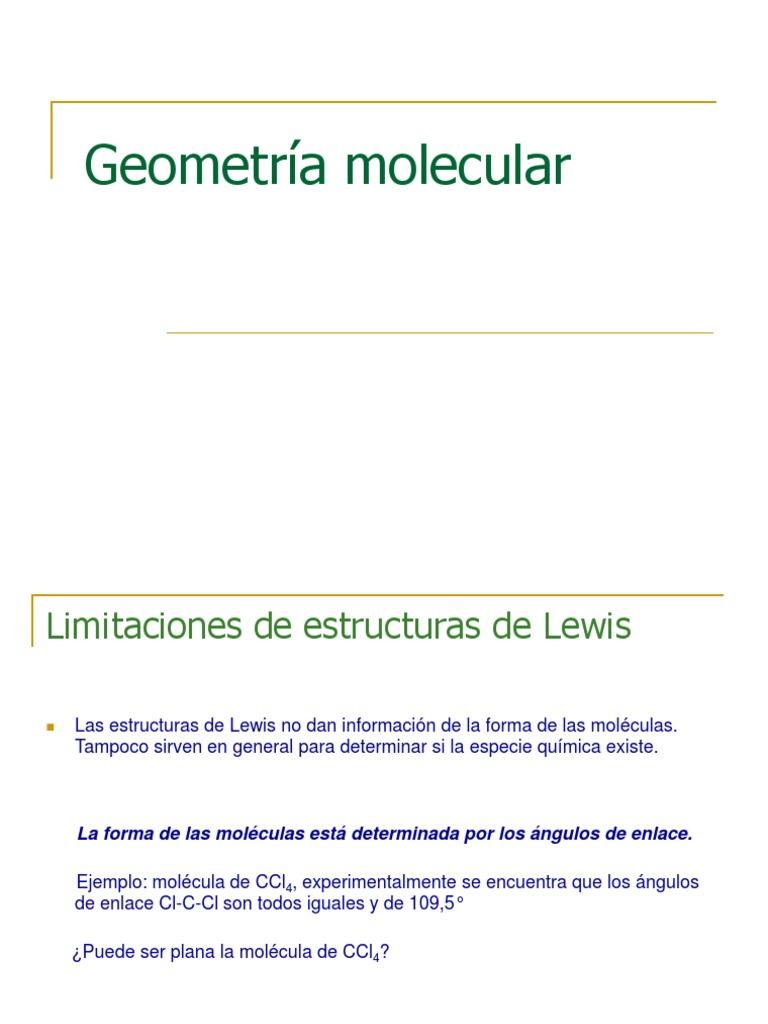 Geometria Molecular 01 07