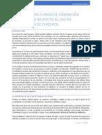 Formacion Especializada - Consideraciones Sobre El Uso de Materiales de Terceros