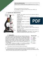 PRACTICA 3 - Microscopio - Partes