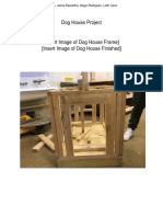 copy of dog house project - write up template