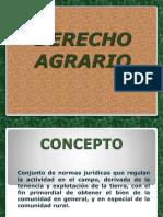 Present. Agrario