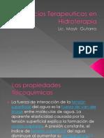 Ejercicios Terapeuticos en Hidroterapia (1)
