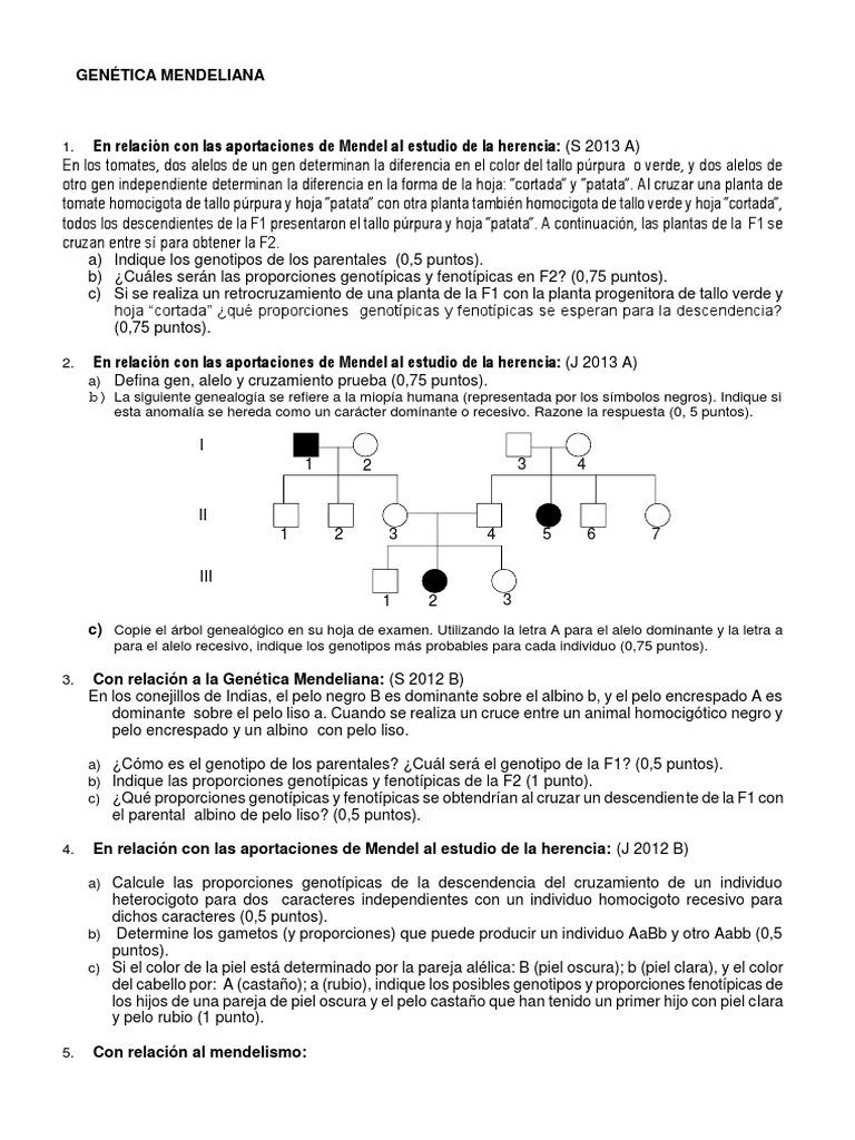 Asombroso La Genética Hoja De Trabajo 1 Respuestas Colección ...