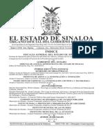 Bando de policía y buen Gobierno de Culiacán