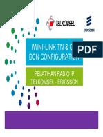 3. Mini-Link TN & CN_DCN Configuration