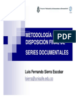 Disposición Final de los Documentos en la Gestión Documental