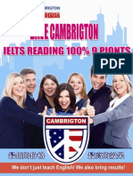 1cambrigton Dave Ielts Reading 100 9 Points