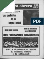 Política Obrera No. 138