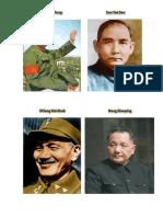 Personajes de La Revolucion Cultural