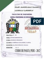 QUIMICA ORGANICA DITHIOCARBAMATO