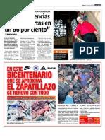 """""""Las emergencias están cubiertas en un 96%"""" / En Villa Olímpica exigen cháchara con Pedro Sabat"""