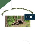 Fauna Autóctona.