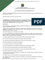 Portaria TJDFT - Conciliadores e Mediadores Atuação