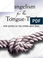 Chap Bettis - Evangelism for the Tongue-Tied