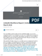 March Workforce Report 2018
