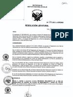 Reglamento de La Red de Laboratorios Actual Al 14-04-16