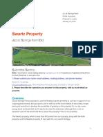 Losing bid for the Swartz property