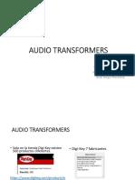 Transformadores de Audio