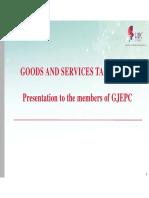 GST Presentation
