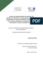 -BETALLELUZ - Estudio Del Enriquecimiento de Manzana Con Prebióticos, Probióticos y Componentes an...