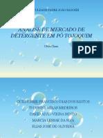 ANÁLISE DE MERCADO DE DETERGENTE EM PÓ TOJOQUIM.pptx