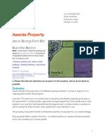 Losing Bid for Aweida Property