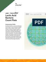 3M Petrifilm Lactic Acid Bacteria InterpGuide