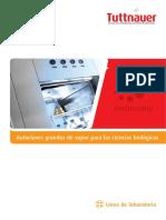 Horiziontal Lab Autoclaves Tuttnauer Sp 26-03-14