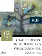 62 Tips on Graphic Design, UI-UX Design, And Visualization for ELearning