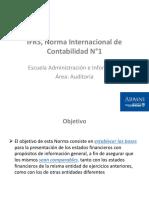 Unidad 2 - Nic 1 Presentacion de Estados Financieros