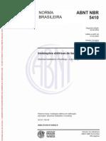 NBR 5410 2004 Corrigida 2008