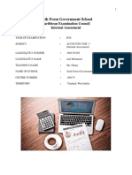 Final Accounts Ia