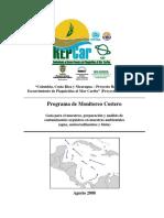 Manual de Procedimientos de Programa de Monitoreo Costero REPCar