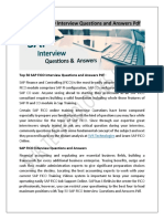 Top 50 SAP FICO Interview Questions and Answers PDF