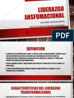 LIDERAZGO TRANSFOMACIONAL