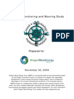 Advanced Anchoring and Mooring Study