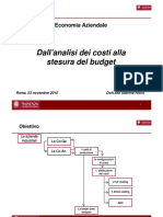 Analisi Costi e Budgeting
