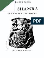 Edmond Jacob - Ras Shamra Et l'Ancien Testament