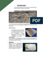 Petrología-Mineralogía- MICHIQUILLAY