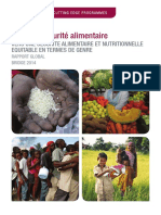 Genre Et Se Curite Alimentaire Rapport Global 1