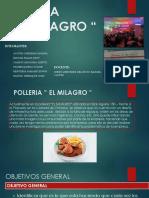 Polleria El Milagro Marketing Rectificado