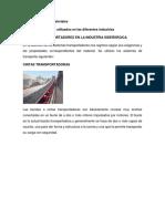 Manipulacion de Materiales Medios de Transporte en La Industria