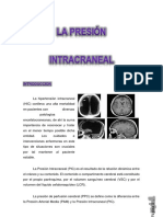presion intracraneal