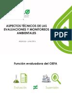 Aspectos Técnicos de Los Monitoreos Ambientales Apurimac