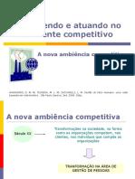 A Nova Ambiência Competitiva - Gestão de Pessoas